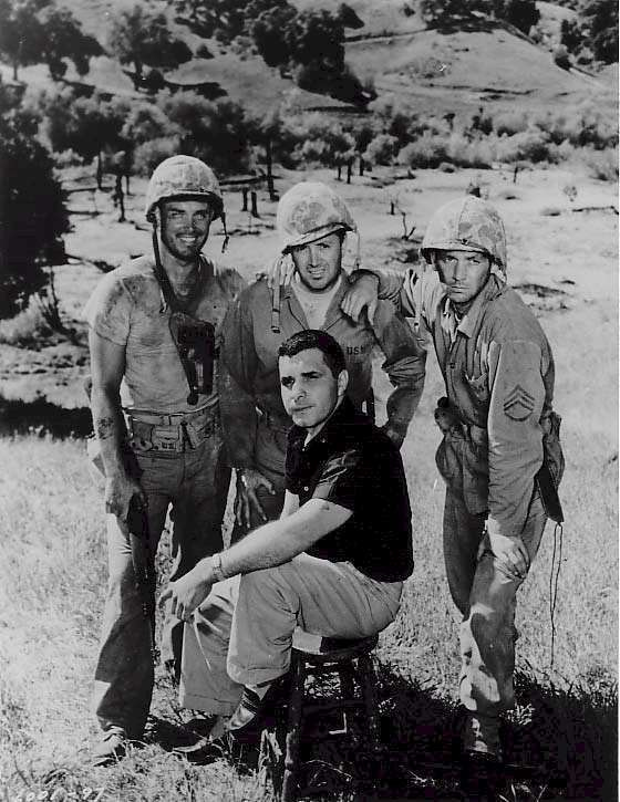 Hell to Eternity  On location  Jeffrey Hunter  Guy Gabaldon  David Janssen  Vic Damone