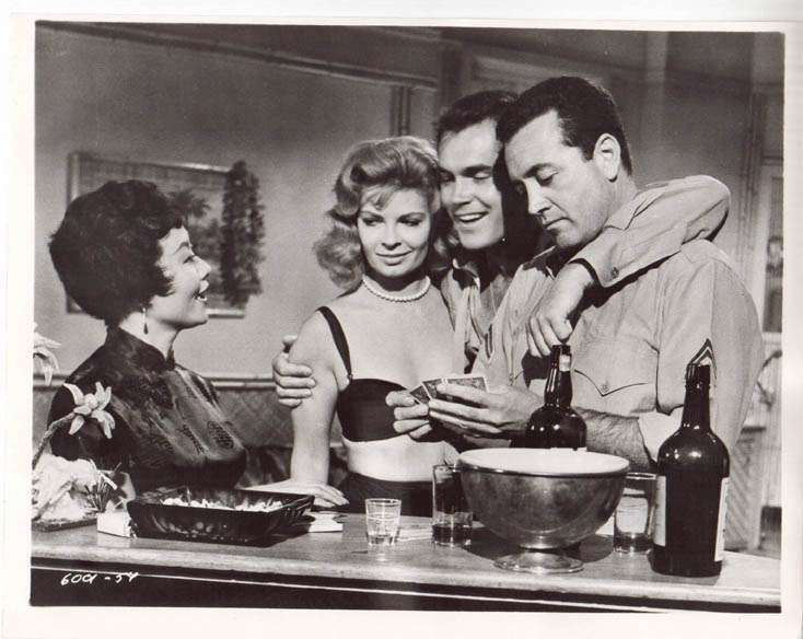 Hell to Eternity   Jeffrey Hunter  Patricia Owens  Vic Damone