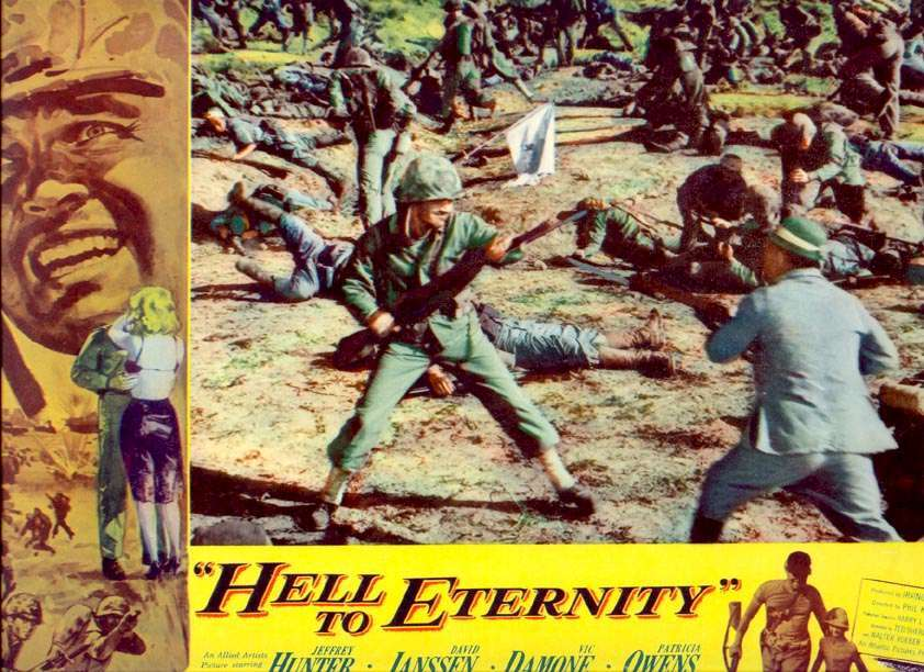 Hell to Eternity Jeffrey Hunter