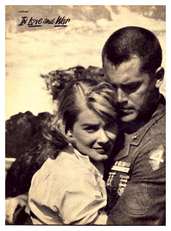 In Love and War  Jeffrey Hunter  Hope Lange