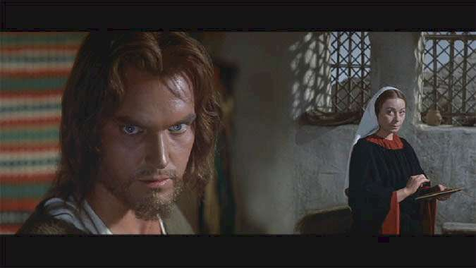 King of Kings  Jeffrey Hunter  Jesus Christ  Siobhan McKenna