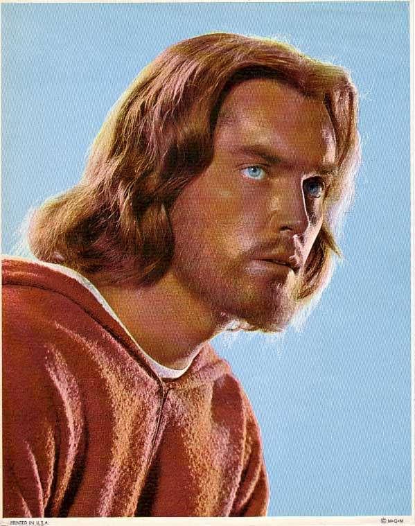 "Jeffrey Hunter as Jesus in ""King of Kings"""
