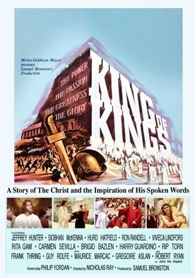 King of Kings  Jeffrey Hunter  movie poster