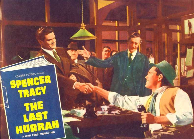 The Last Hurrah  Jeffrey Hunter  John Carradine