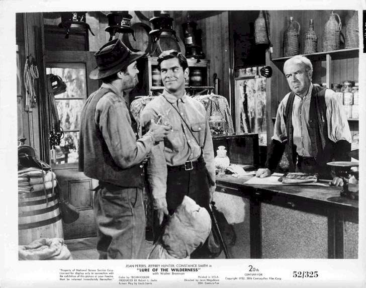 Lure of the Wilderness  Jeffrey Hunter  Jack Elam