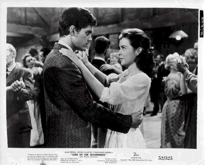 Lure of the Wilderness  Jeffrey Hunter  Jean Peters