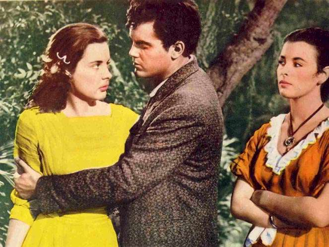Lure of the Wilderness  Jeffrey Hunter  Jean Peters  Constance Smith