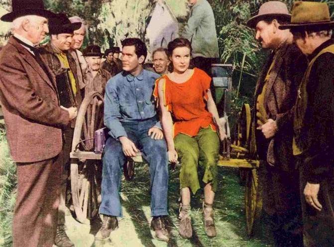 Lure of the Wilderness  Jeffrey Hunter  Jean Peters  Walter Brennan