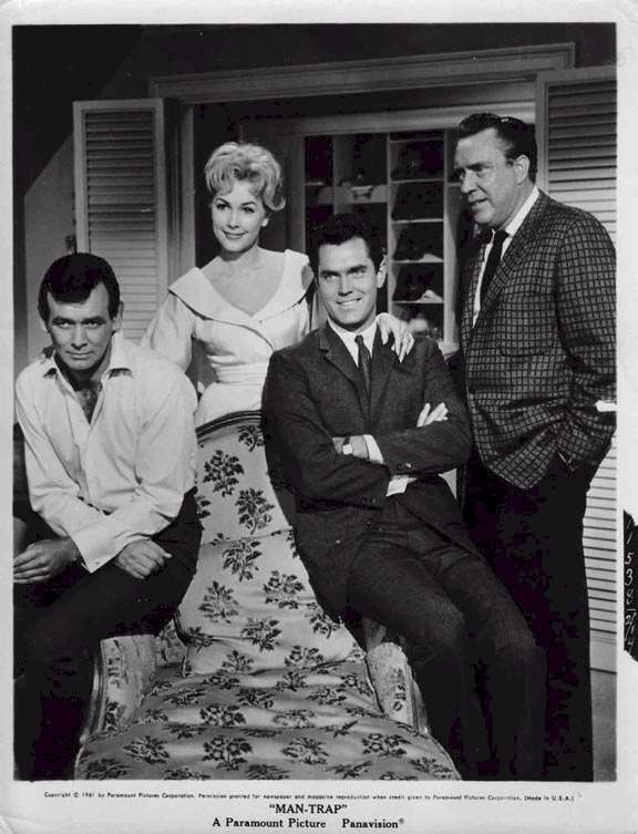 Man-Trap  David Janssen  Stella Stevens  Jeffrey Hunter  Edmond O'Brien