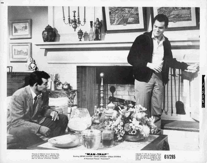 Man-Trap  Jeffrey Hunter  David Janssen