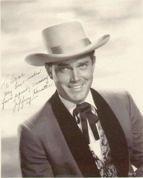 The Man from Galveston  Jeffrey Hunter  autographed photo
