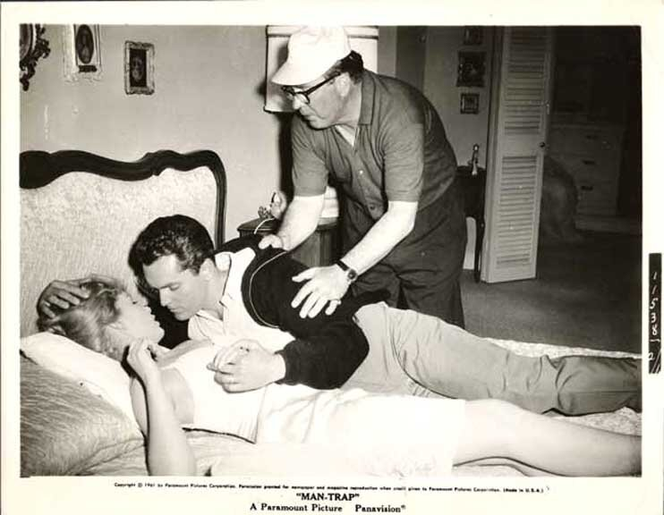 Man-Trap  Jeffrey Hunter  Stella Stevens  Edmond O'Brien