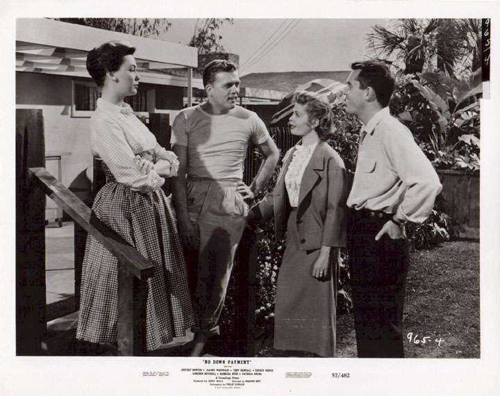 No Down Payment  Jeffrey Hunter  Patricia Owens  Pat Hingle  Barbara Rush