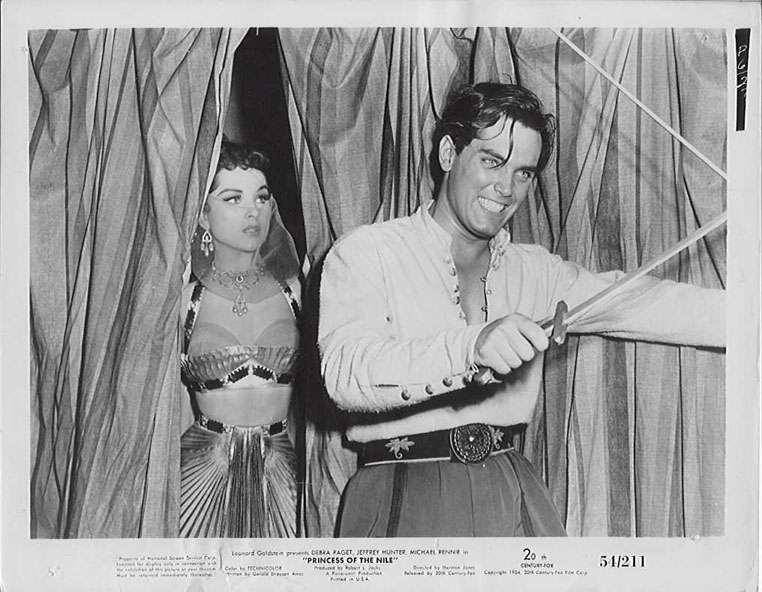 Princess of the Nile  Jeffrey Hunter  Debra Paget