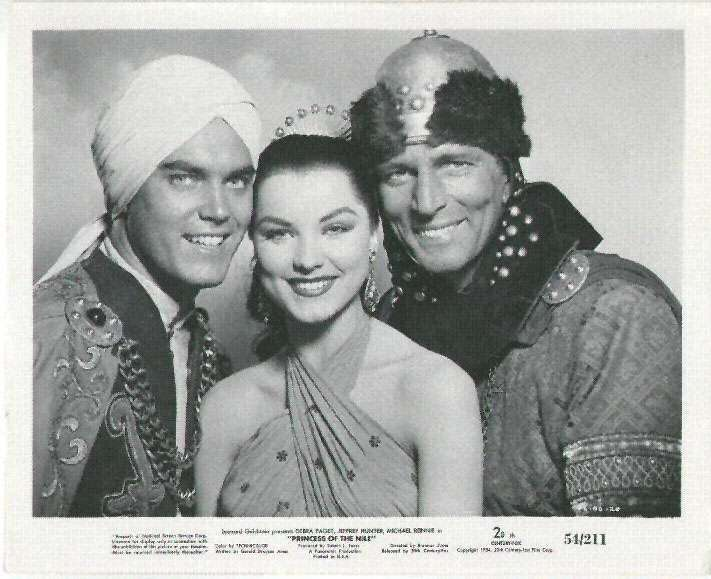 Princess of the Nile  Jeffrey Hunter  Debra Paget  Michael Rennie