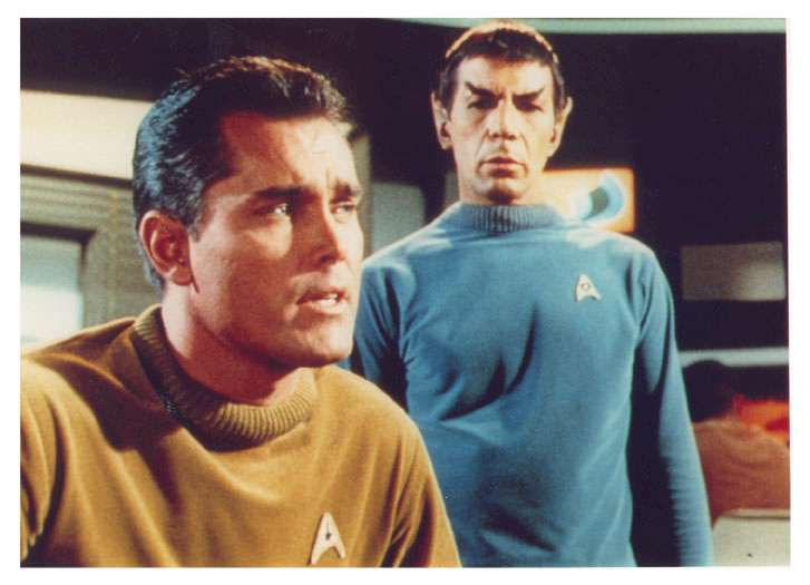 Jeffrey Hunter  Captain Christopher Pike  Star Trek  Leonard Nimoy