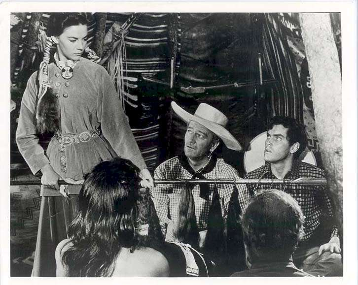 The Searchers  Jeffrey Hunter  Natalie Wood  John Wayne