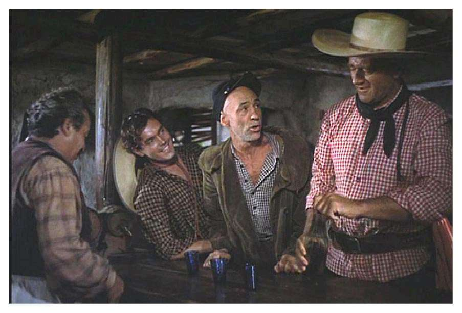 The Searchers  Jeffrey Hunter  Hank Worden  John Wayne
