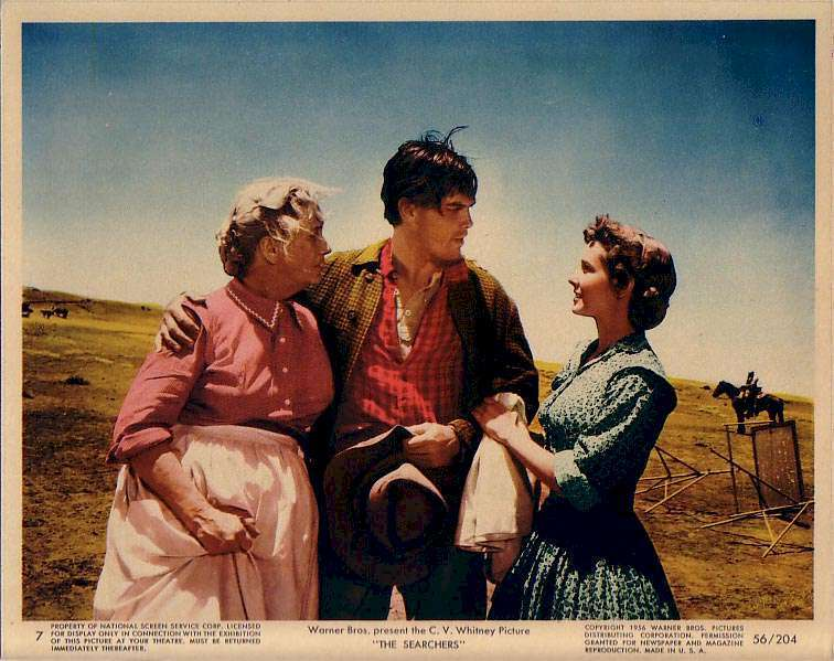 The Searchers  Jeffrey Hunter  Vera Miles  Olive Carey