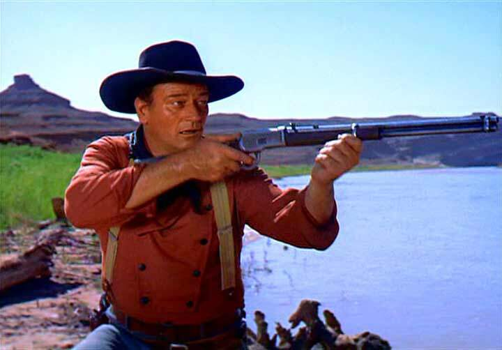The Searchers  John Wayne