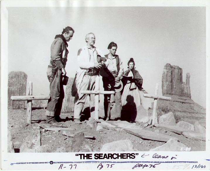 The Searchers  Jeffrey Hunter  John Wayne  Ward Bone