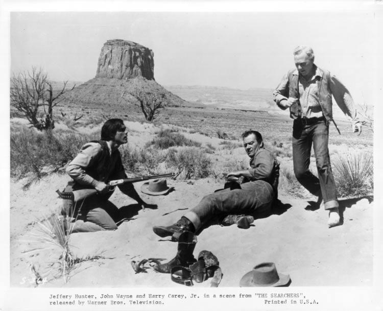 The Searchers  Jeffrey Hunter  John Wayne  Harry Carey, Jr.