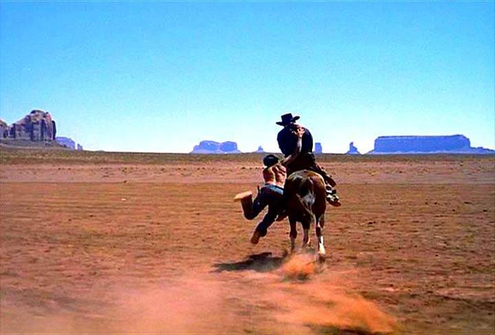 The Searchers  Jeffrey Hunter  John Wayne
