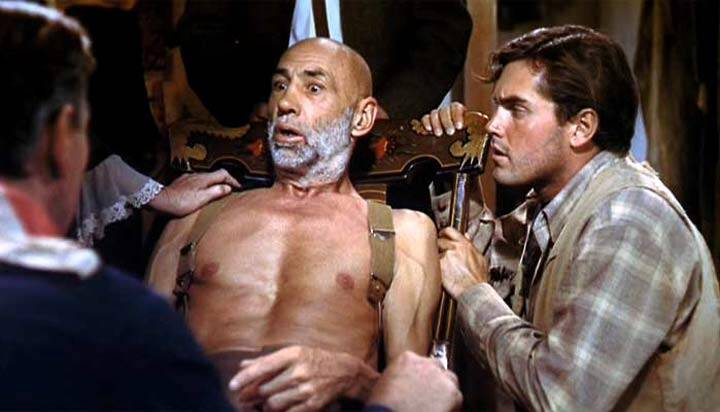 The Searchers  Jeffrey Hunter  Hank Worden