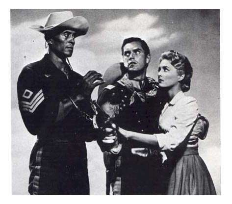 Sergeant Rutledge  Jeffrey Hunter  Woody Strode  Constance Towers