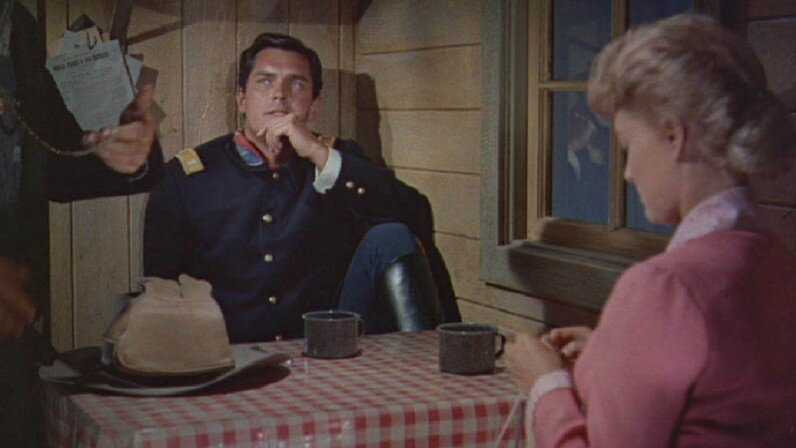 Sergeant Rutledge  Jeffrey Hunter  Constance Towers