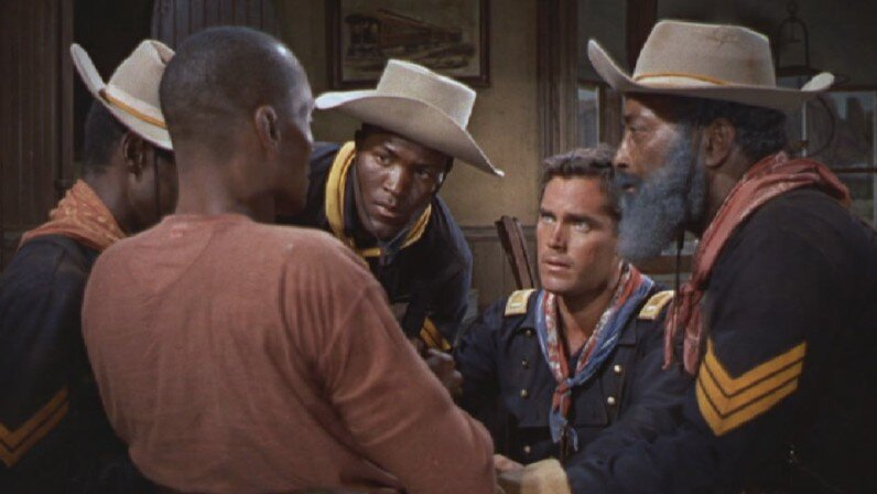 Sergeant Rutledge  Jeffrey Hunter  Woody Strode