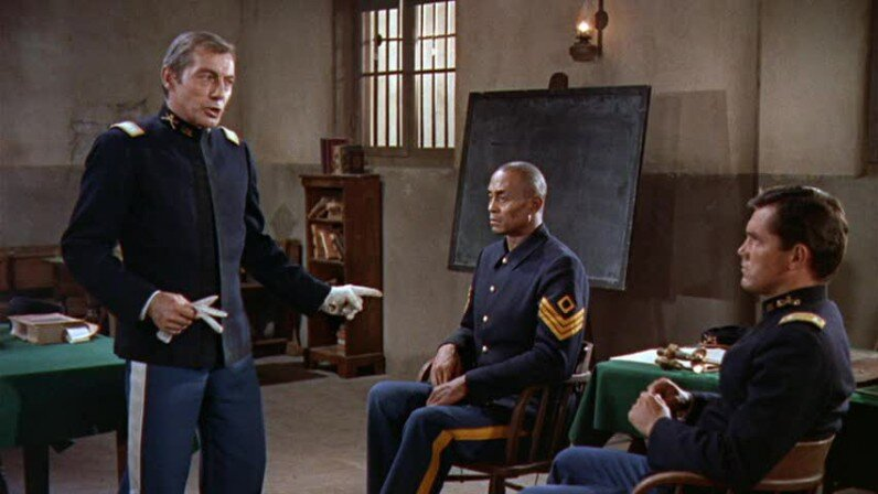 Sergeant Rutledge  Jeffrey Hunter  Woody Strode  Carleton Young