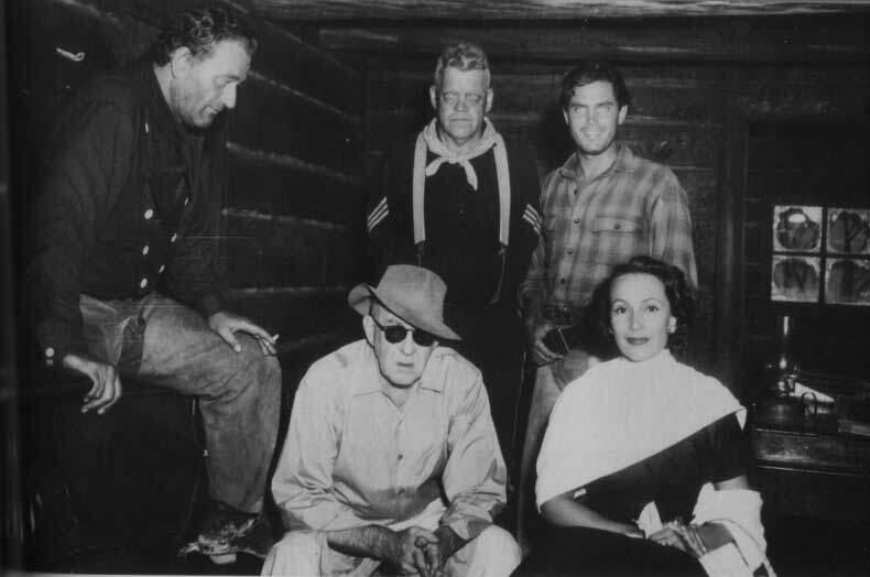 The Searchers John Wayne Jeffrey Hunter John Ford