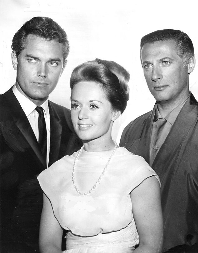Jeffrey Hunter  Kraft Suspense Theatre  The Trains of Silence  Tippi Hedren  Lloyd Bochner