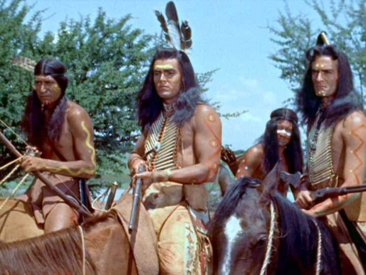 White Feather  Jeffrey Hunter  Hugh O'Brian
