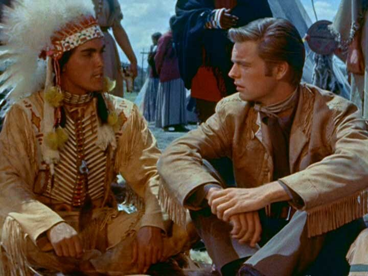White Feather  Jeffrey Hunter  Robert Wagner