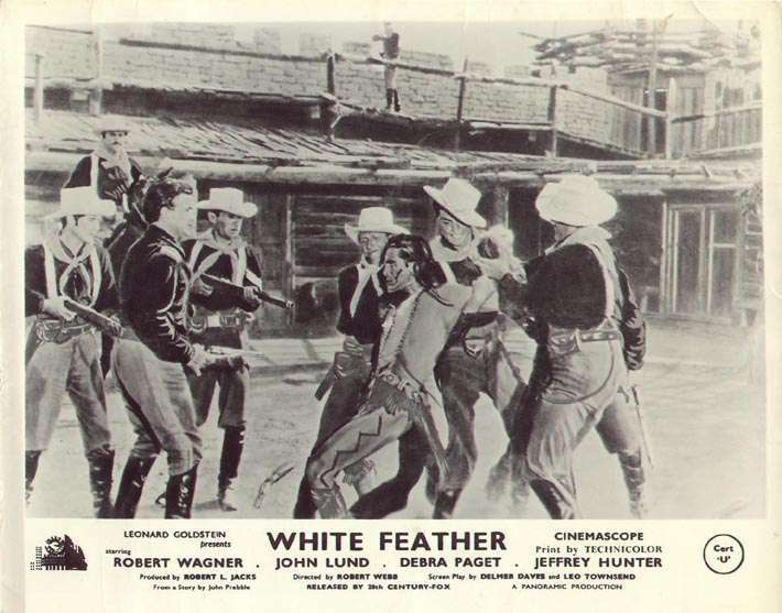 White Feather  Hugh O'Brian