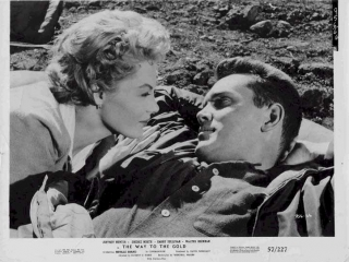 The Way to the Gold  Jeffrey Hunter  Sheree North