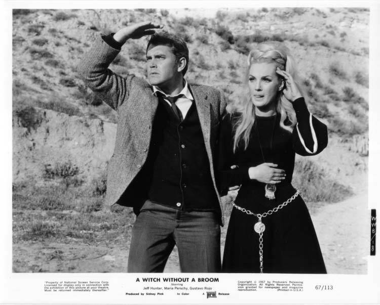 A Witch Without a Broom  Jeffrey Hunter  Maria Perschy