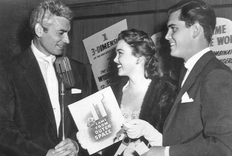 Jeffrey Hunter  Barbara Rush  wife  Jeff Chandler