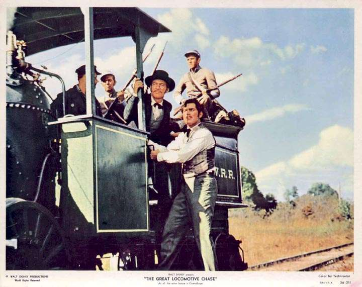 The Great Locomotive Chase  Jeffrey Hunter