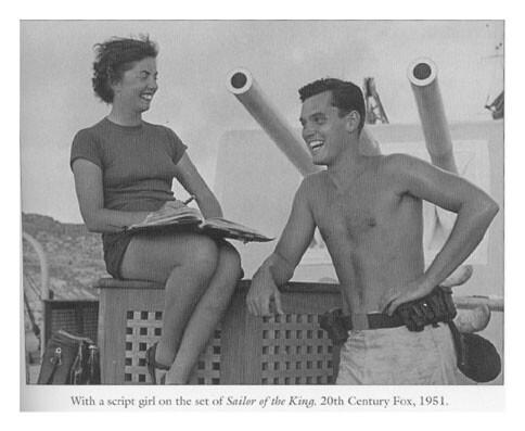 Sailor of the King  Jeffrey Hunter  location photo