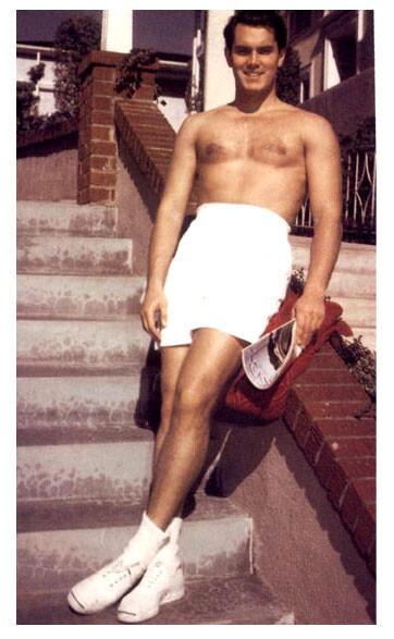 Jeffrey Hunter shirtless
