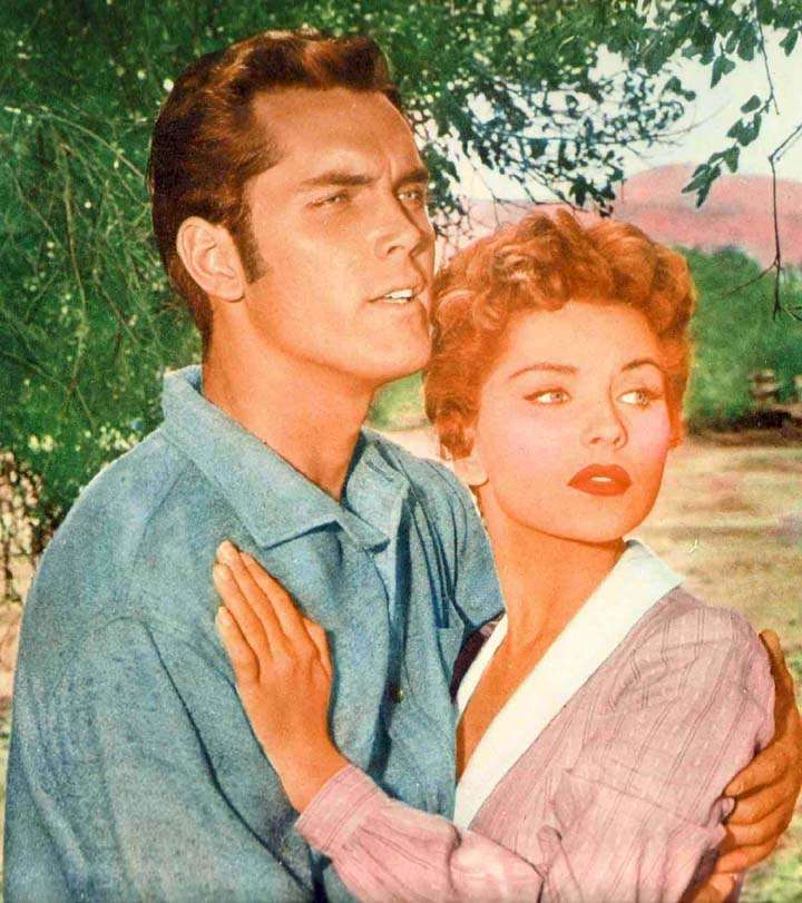 Seven Angry Men  Jeffrey Hunter  Debra Paget