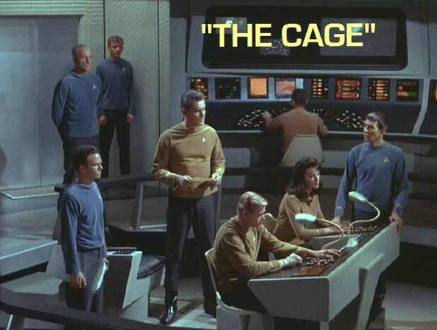 Jeffrey Hunter  Captain Christopher Pike  Star Trek  Majel Barrett  Leonard Nimoy  Peter Duryea  John Hoyt