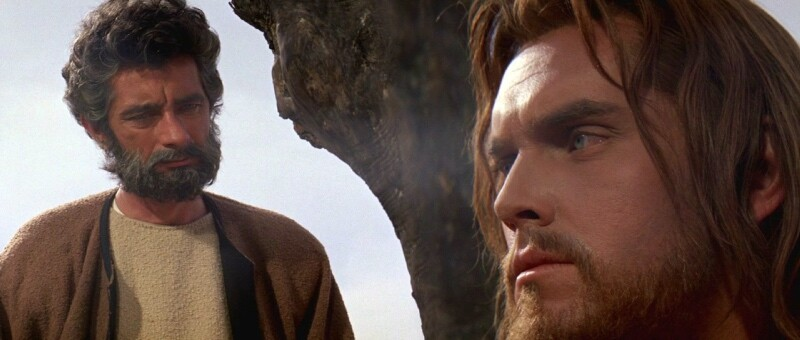 Jeffrey Hunter  King of Kings  Jesus Christ  Royal Dano
